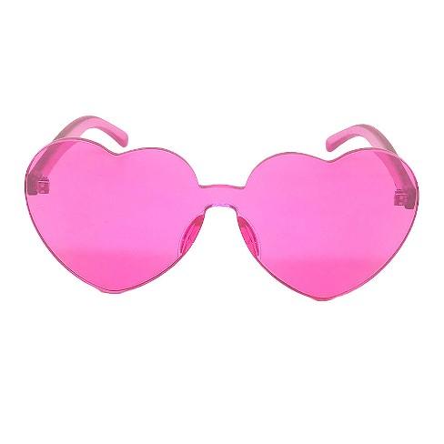 48cbbd17548 Women s Heart Sunglasses - Wild Fable™ Pink   Target