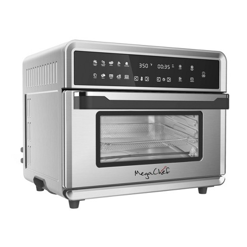 MegaChef 10-in-1 Multi-function Counter Top Oven  - Silver - image 1 of 4