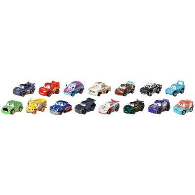 Disney Pixar Cars Mini Racers Variety 15-Pk