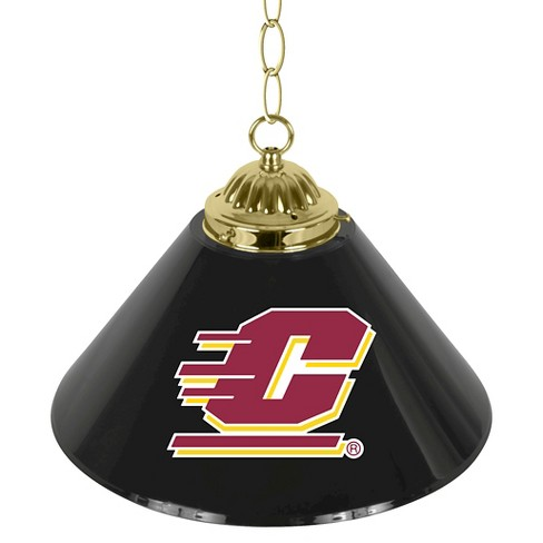 "NCAA Central Michigan Chippewas Single Shade Bar Lamp - 14"" - image 1 of 1"