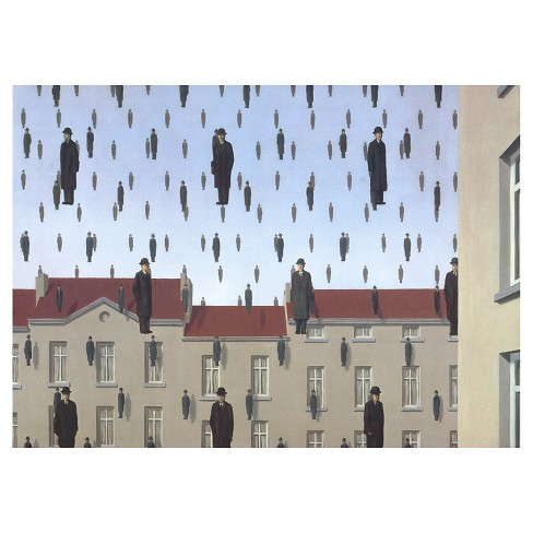 Golconde by Rene Magritte Unframed Wall Art Print - image 1 of 2