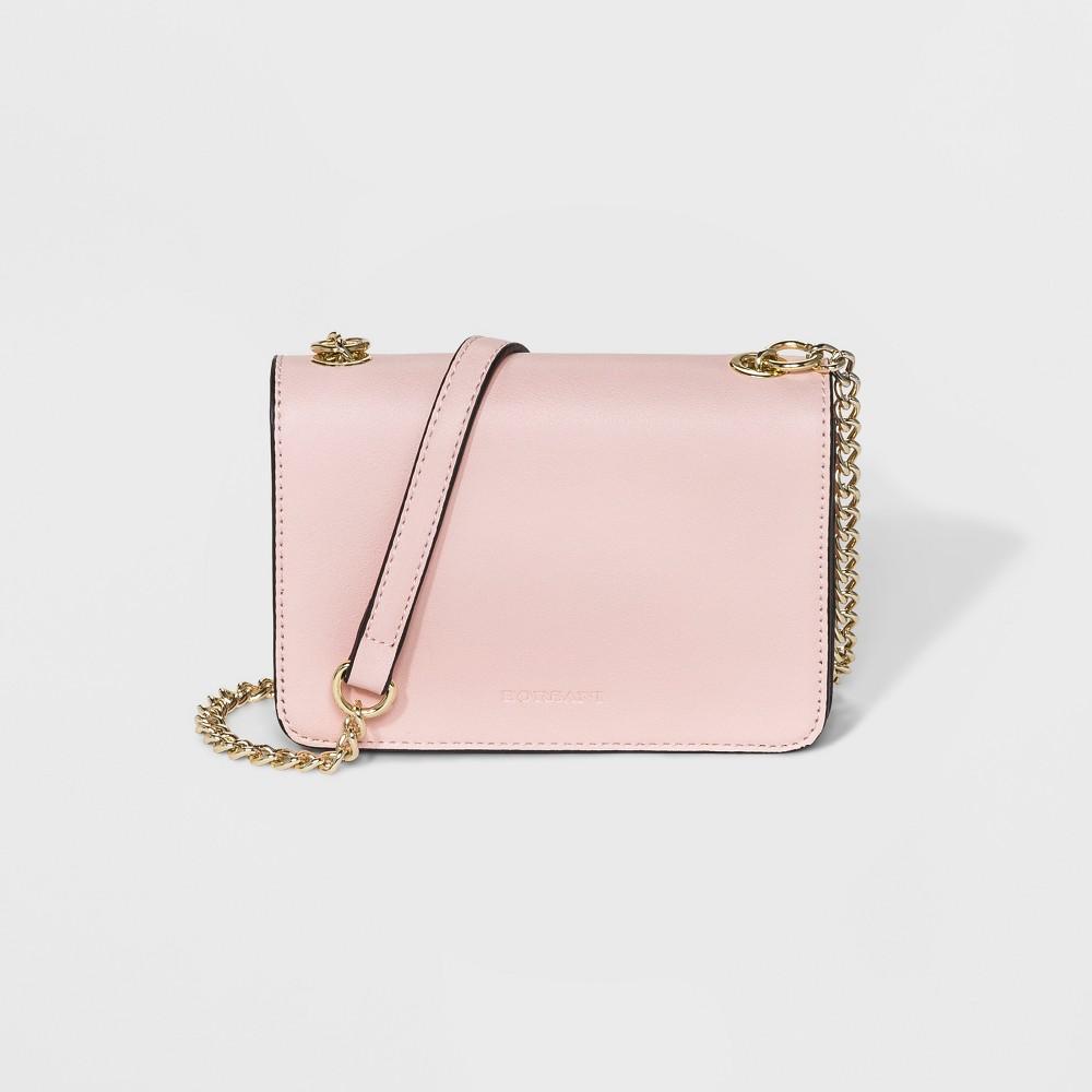 Image of Borsani Mini Satchel Handbag - Rose, Women's, Size: Small, Pink