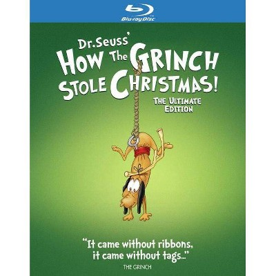 Dr. Seuss' How The Grinch Stole Christmas! (Blu-ray)(2020)