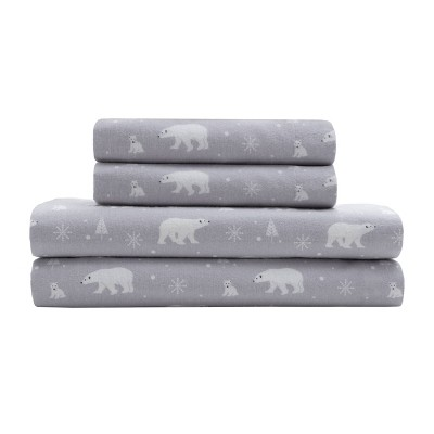 Torrey Lane Cotton Flannel Sheet Set - Elite Home Products Inc