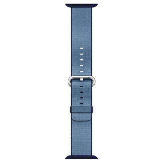Apple® Watch Woven Nylon Band 42mm - Navy/Tahoe Blue