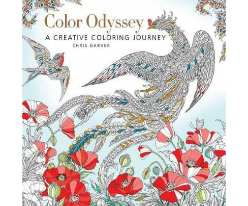 Color Odyssey Adult Coloring Book: A Creative Coloring Journey - image 1 of 1