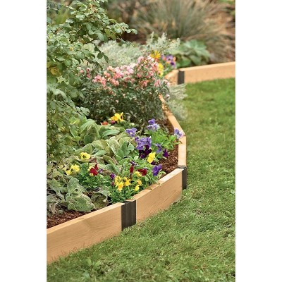 Raised Bed Corners, Pivoting Connectors, 8 Inch Set of 2 - Gardener's Supply Company