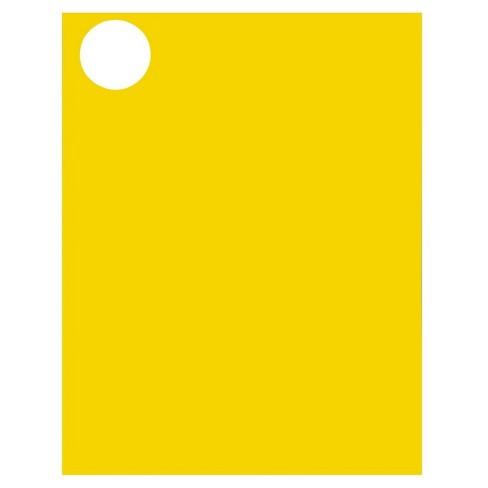 jam paper circle sticker seals 1 2 3 120ct neon yellow target