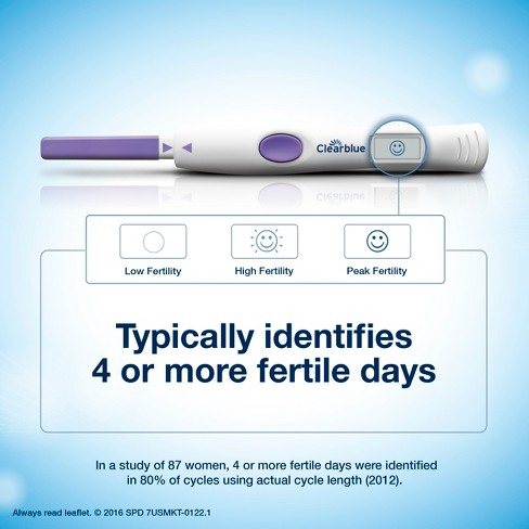 Clearblue Advanced Digital Ovulation Tests 10ct Target