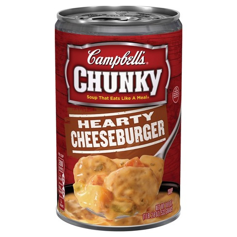 Campbell's® Chunky™ Hearty Cheeseburger Soup 18.8 oz - image 1 of 5