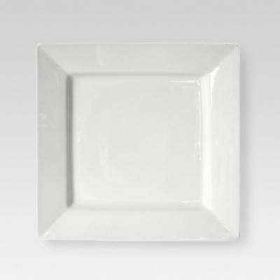 Square Serving Platter 14in Porcelain - Threshold™