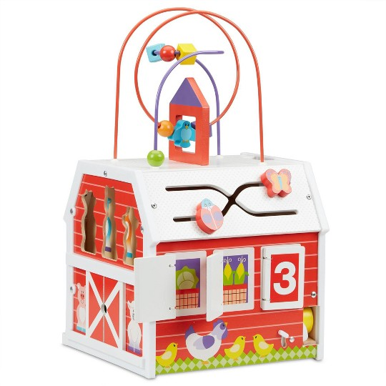 Melissa & Doug First Play Activity Barn image number null