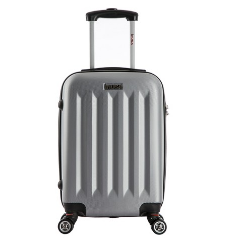 "InUSA Philadelphia 19"" Hardside Spinner Carry On Suitcase - Gray - image 1 of 6"