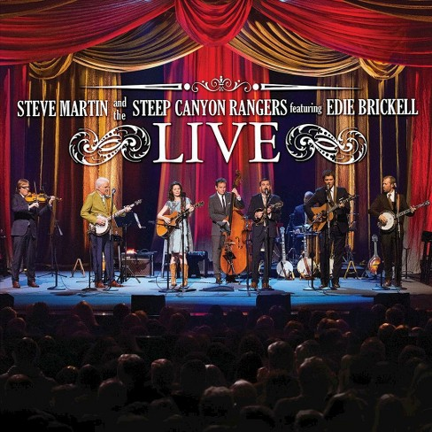 Steve and th martin - Steve martin/Steep canyon rangers fea (CD) - image 1 of 1