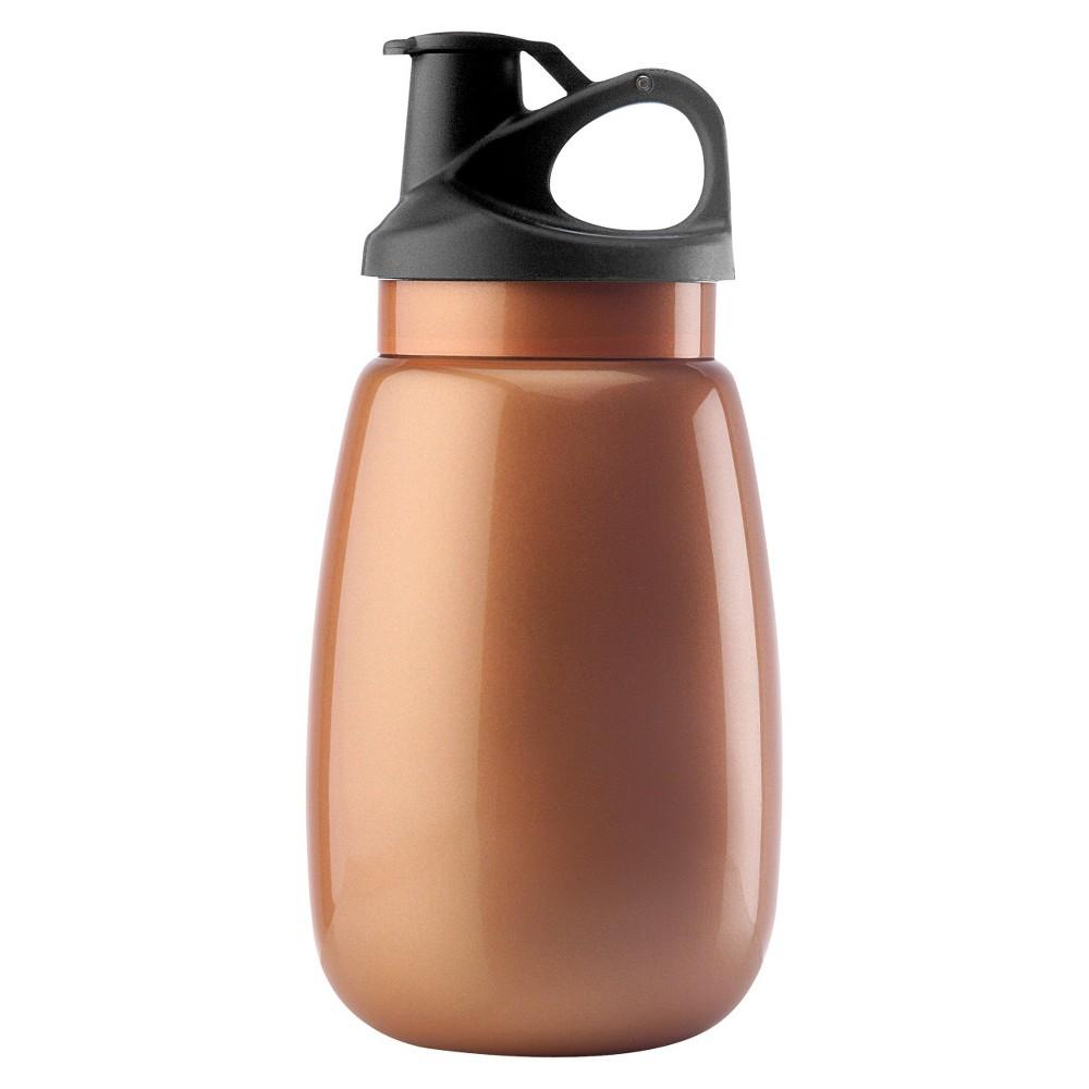 Image of Aktive Lifestyle Water Bottle 20oz - Orange, Citrus Orange