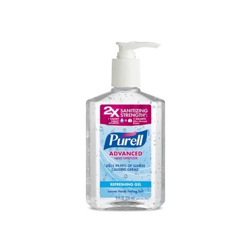 PURELL Advanced Hand Sanitizer Refreshing Gel Pump Bottle - 8 fl oz - image 1 of 3