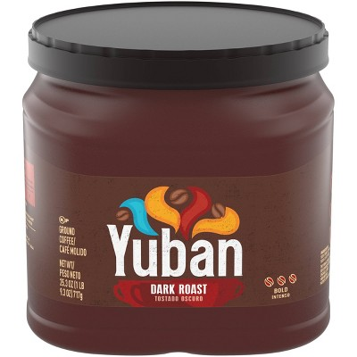 Yuban Premium Dark Roast Ground Coffee - 25.3oz