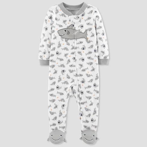 5ca767478 Baby Boys  Shark Sleep N  Play - Just One You® Made By Carter s Gray ...