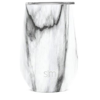 Simple Modern 12oz Stainless Steel Lidded Tumbler Marble