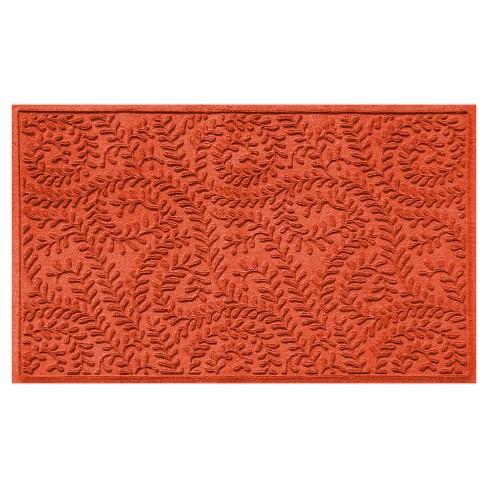 Orange Solid Doormat - (3'X5') - Bungalow Flooring - image 1 of 2