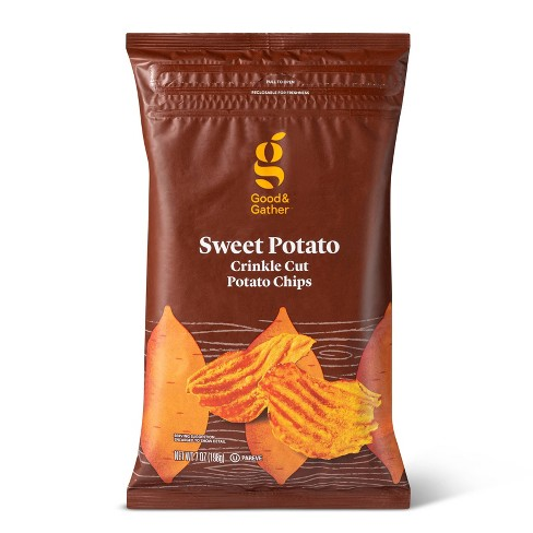 Sweet Potato Kettle Chips - 7oz - Good & Gather™ - image 1 of 3