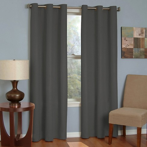 Eclipse Thermaback Microfiber Grommet Blackout Curtain