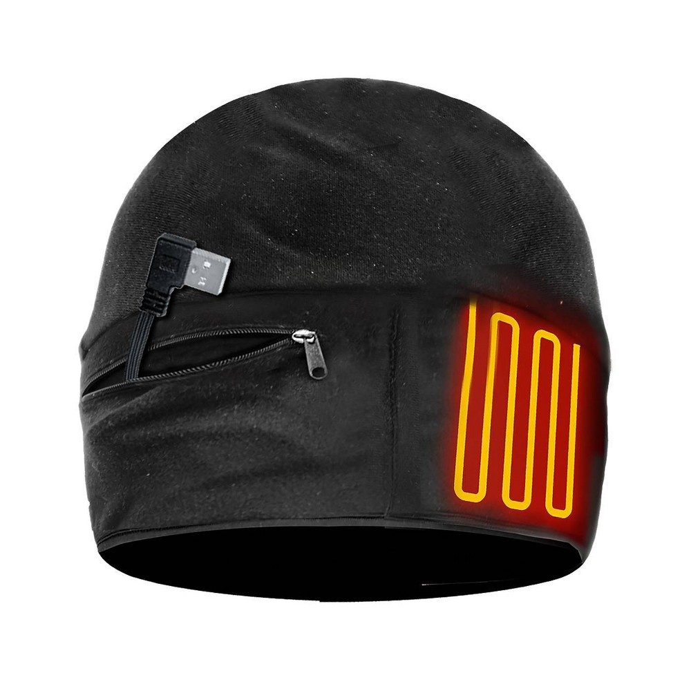 Image of ActionHeat 5v Battery Heated Hat - Black L/XL, Size: Large/XL