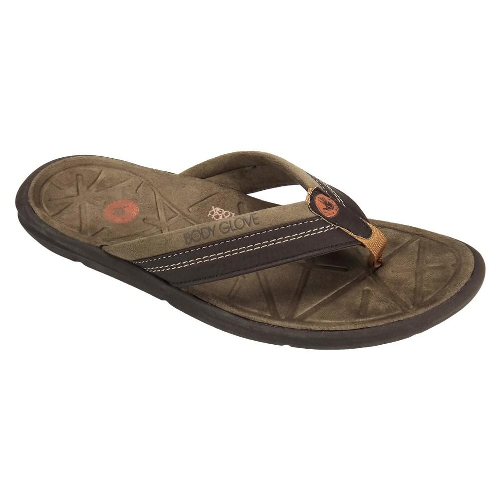 Men's Body Glove Quest Flip Flop Sandals - Brown 8