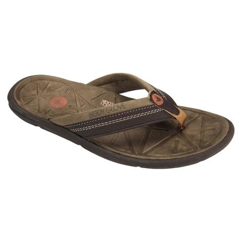 1e3df24ad Men s Body Glove Quest Flip Flop Sandals - Brown 8   Target