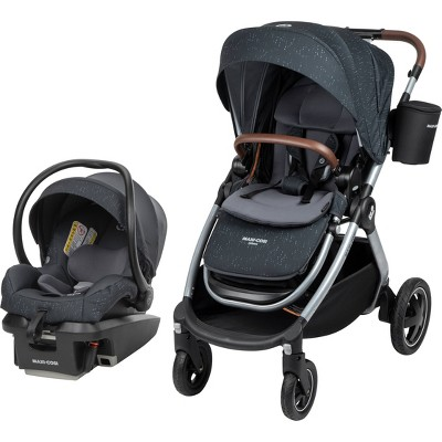 Maxi-Cosi Adorra All-in-One Travel System in Pure Cosi - Sonar Gray