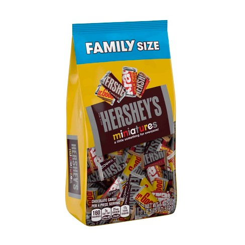 HERSHEY'S Miniatures Family Bag - 19.75oz - image 1 of 8