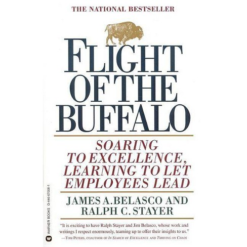 Flight of the Buffalo - by  James A Belasco & Ralph C Stayer (Paperback) - image 1 of 1