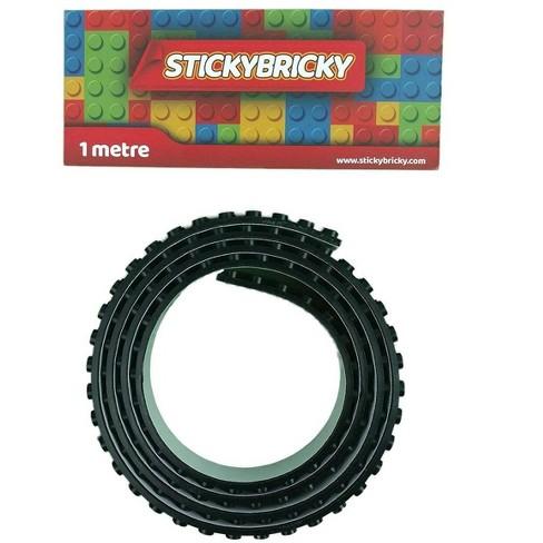 StickyBricky Sticky Bricky LEGO Tape Black - image 1 of 1