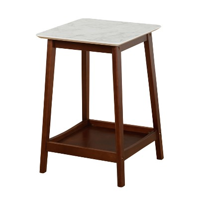 Jhovies End Table - Walnut - Buylateral