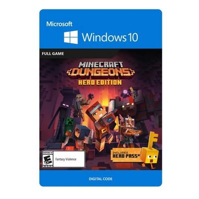 Minecraft Dungeons: Hero Edition - Windows 10 (Digital)