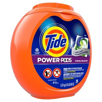 Tide Hygienic Clean Heavy 10x Duty Power PODS Spring Meadow Laundry Detergent Liquid Pacs - 41ct