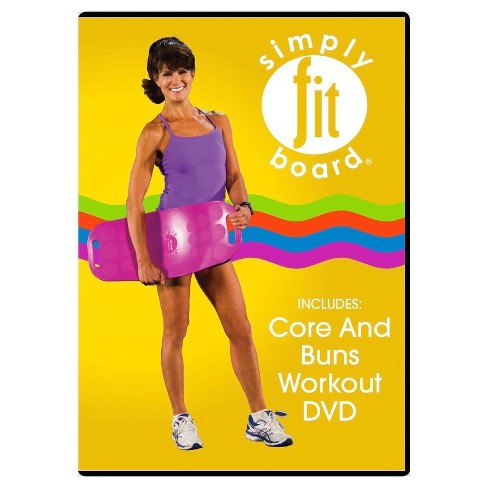 As Seen on TV® Simply Fit Core & Buns Workout (DVD) - image 1 of 1