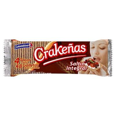Colombina Crakeñas Saltín Integral - 13.5oz