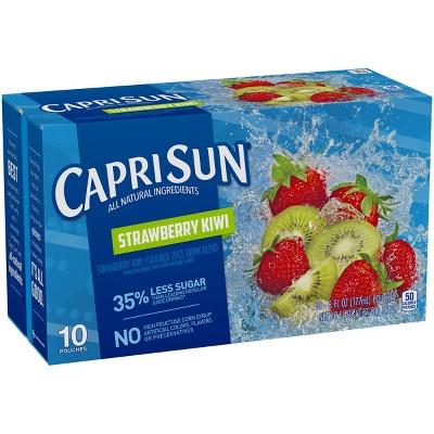 Capri Sun Strawberry Kiwi Pack - 10pk/6 fl oz Pouches