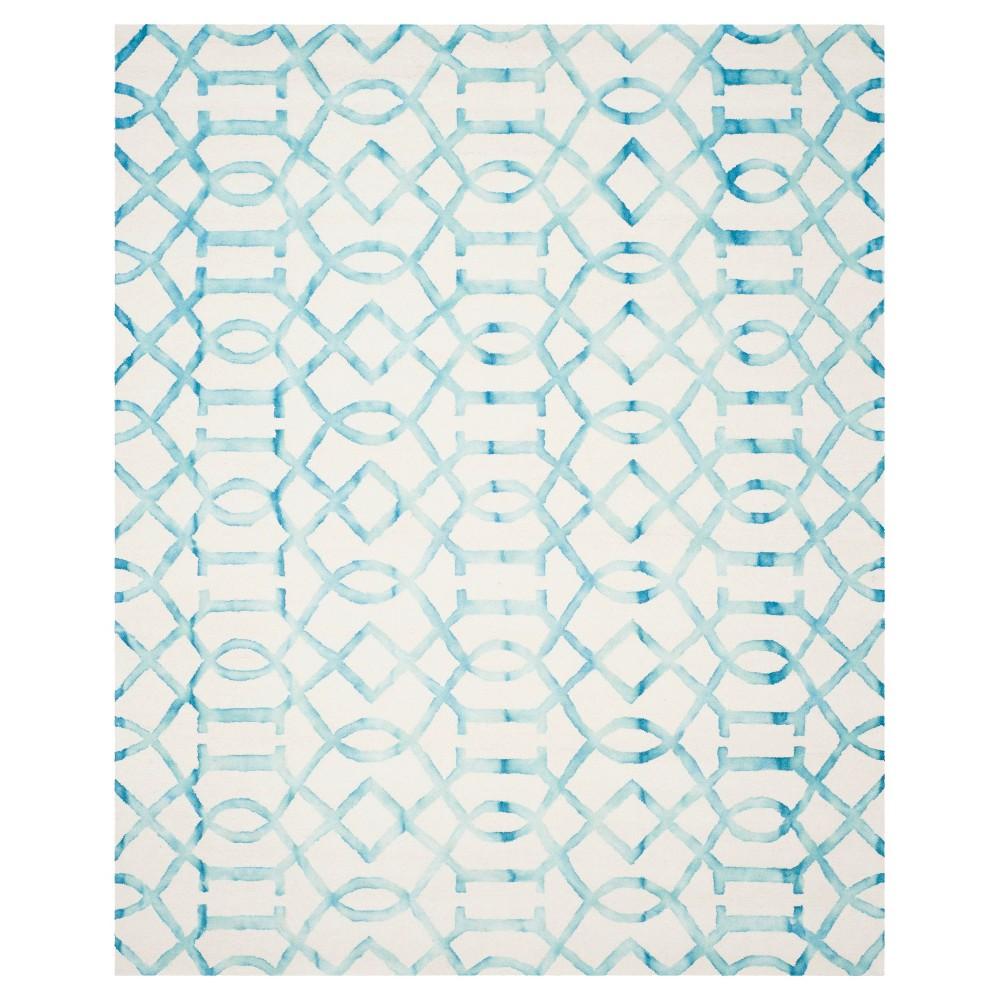 Estcott Area Rug - Ivory/Turq (5'x8') - Safavieh, Ivory/Turquoise