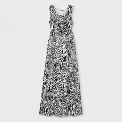 Sleeveless Tie-Front Nursing Maternity Dress - Isabel Maternity by Ingrid & Isabel™ - image 1 of 2