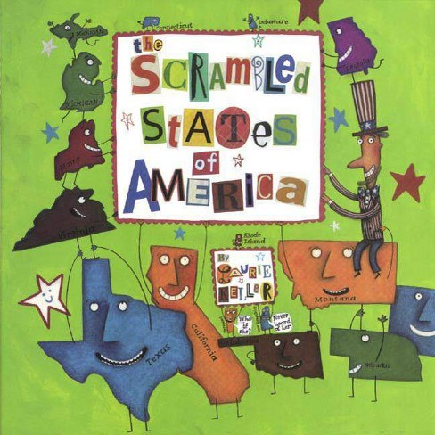 The Scrambled States of America - by  Laurie Keller (Hardcover) - image 1 of 1