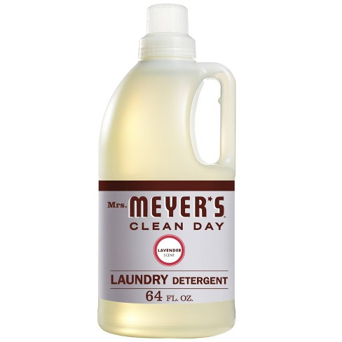 Mrs. Meyer's Clean Day Lavender Laundry Detergent - 64 fl oz - image 1 of 4