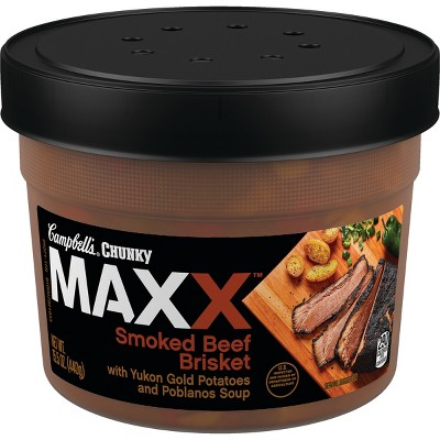 Soup: Campbell's Chunky Maxx