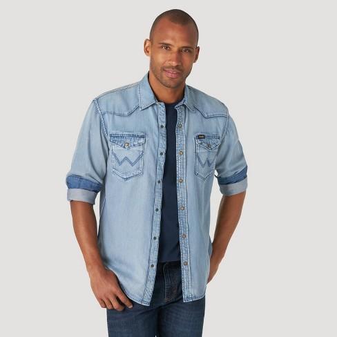 Wrangler Men's Button-Down Shirt - image 1 of 4