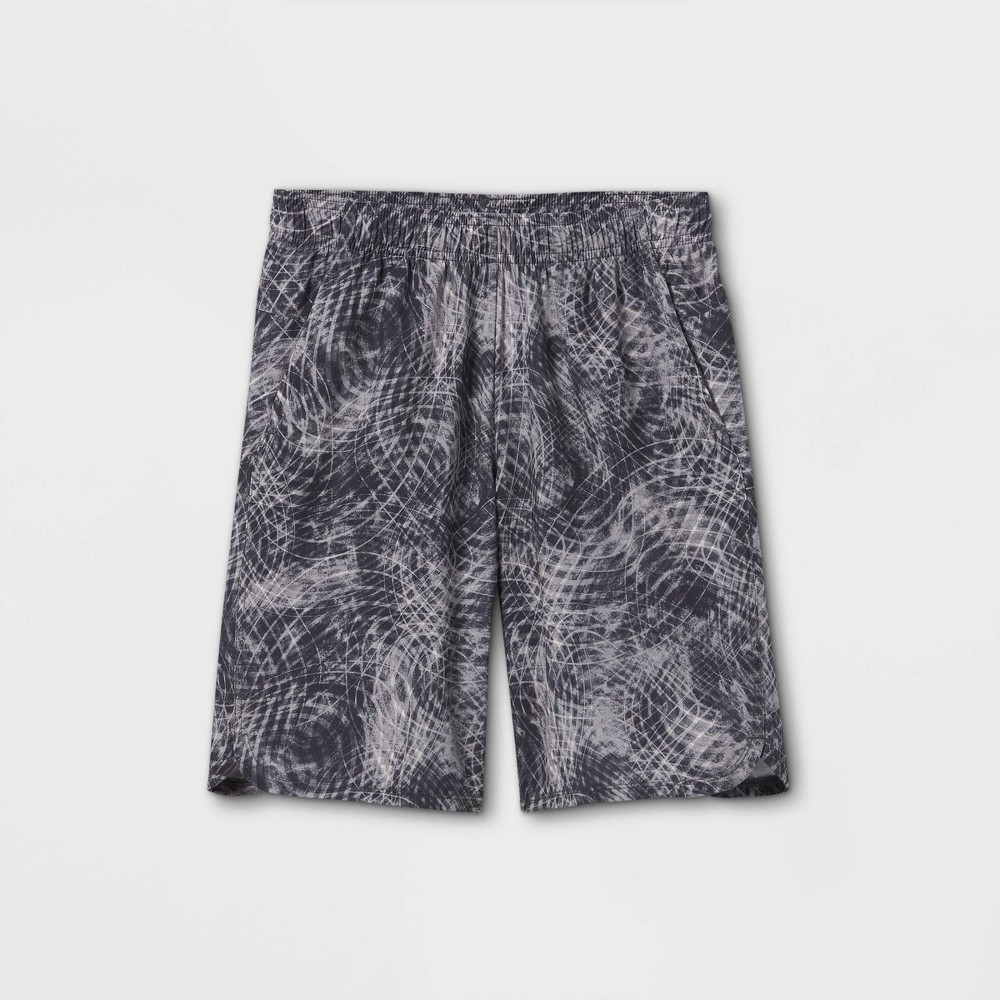 Boys 39 Stretch Woven Shorts All In Motion 8482 Light Gray L