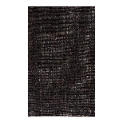 Marlowe Jute Area Rug Charcoal Gray/Natural - Anji Mountain