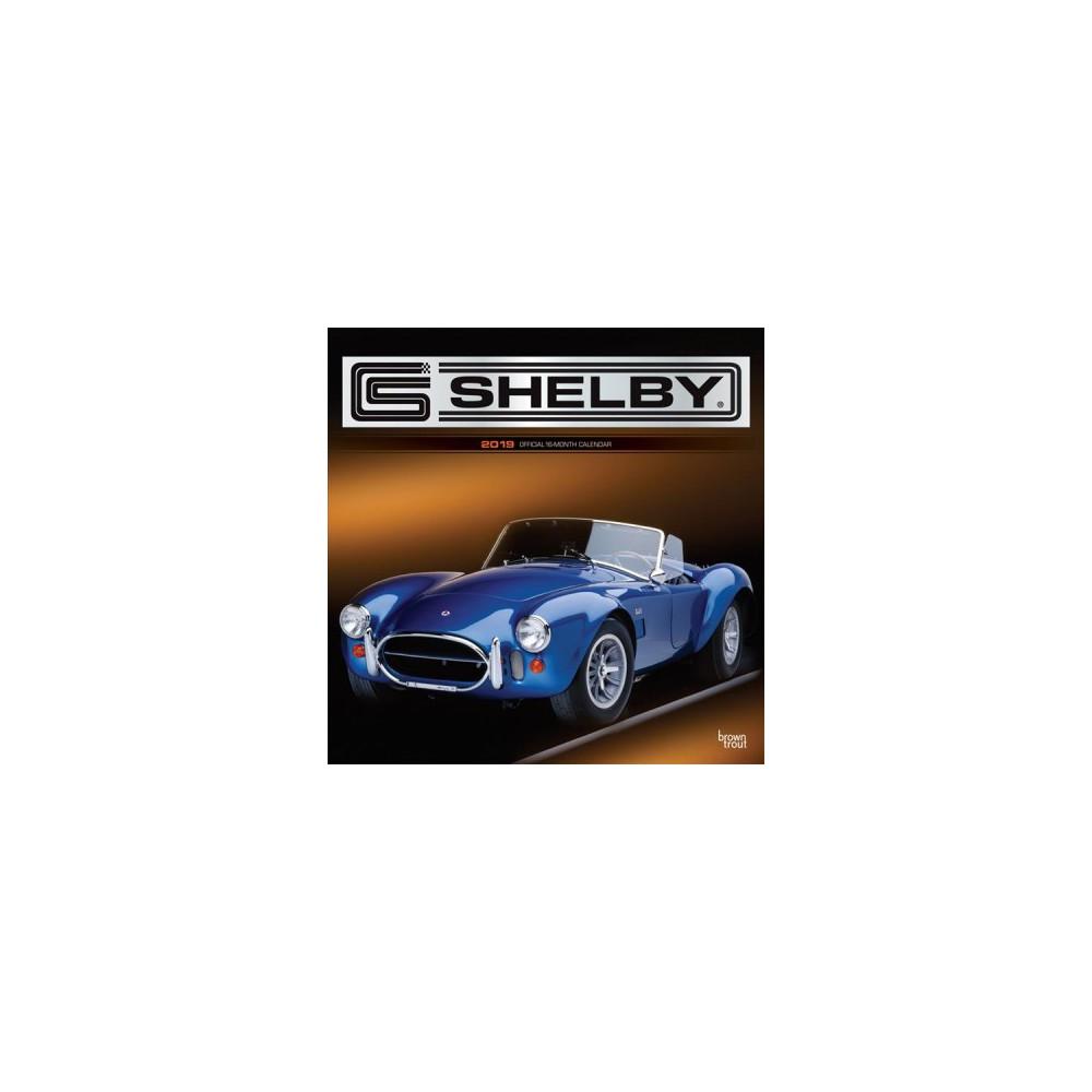 Shelby 2019 Calendar - (Paperback)