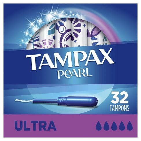 Tampax Pearl Ultra Tampons - image 1 of 4