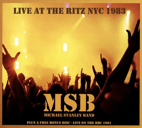 Michael ban stanley - Michael stanley band:Live at the ritz (CD) - image 1 of 1